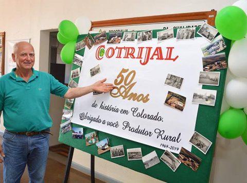 Unidade da Cotrijal de Colorado comemora 50 anos