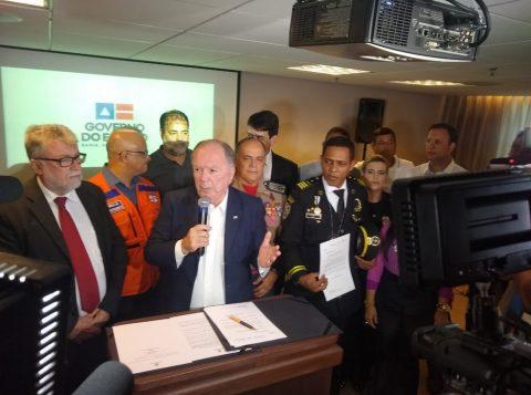 Bahia tem situação de emergência decretada por causa das manchas de óleo em praias do Estado