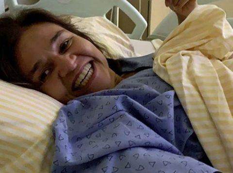 Atriz Claudia Rodrigues é internada em hospital de São Paulo