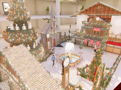 Natal Luz de Gramado será tema de decoração em shopping de Minas Gerais