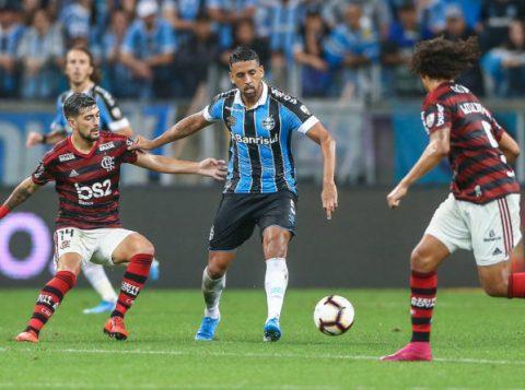 Confira os números do Grêmio em mata-matas contra brasileiros na Libertadores