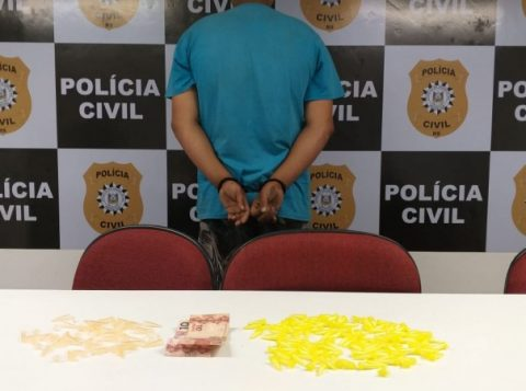 Preso homem que comercializava drogas nas proximidades de uma escola na Zona Norte de Porto Alegre