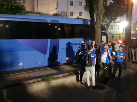 """Falta de luz em hotel do Rio """"atrapalha"""" jantar do Grêmio"""