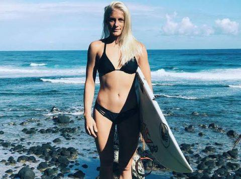 Brasil conhece a sua primeira surfista garantida na Olimpíada de Tóquio-2020