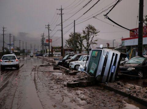 Número de mortos na passagem do tufão Hagibis no Japão passa de 50