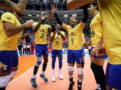 Seleção brasileira masculina vence a Copa do Mundo de vôlei