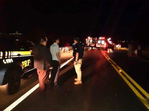 Duas pessoas feridas e uma morte em acidente na BR 285 em Passo Fundo