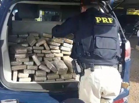 PRF prende quadrilha estrangeira com 150 kg de maconha em Seberi