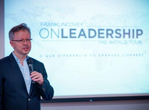FranklinCovey Brasil chega a Porto Alegre e realiza workshop sobre como promover a grandeza nas organizações