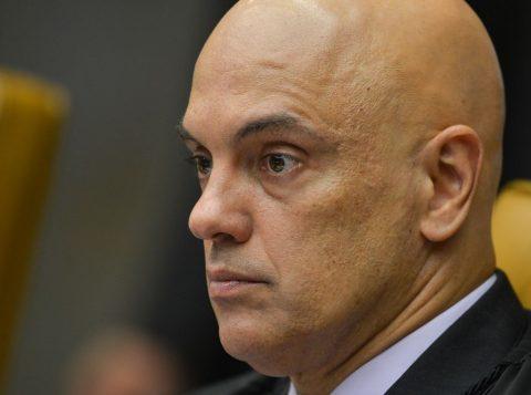 O ministro Alexandre Moraes vota a favor da prisão em segunda instância no Supremo