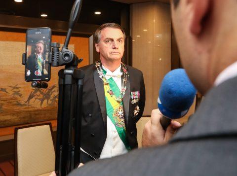 Em Tóquio, Bolsonaro discutiu a exploração da Amazônia com o primeiro-ministro do Japão