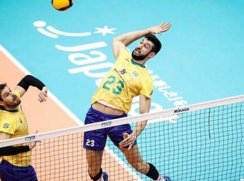 O Brasil bateu o Japão e garantiu o tricampeonato da Copa do Mundo de vôlei em campanha invicta com dez vitórias