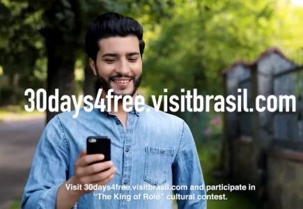 A Embratur paga viagem de 30 dias a estrangeiro em campanha nas redes para promover o Brasil