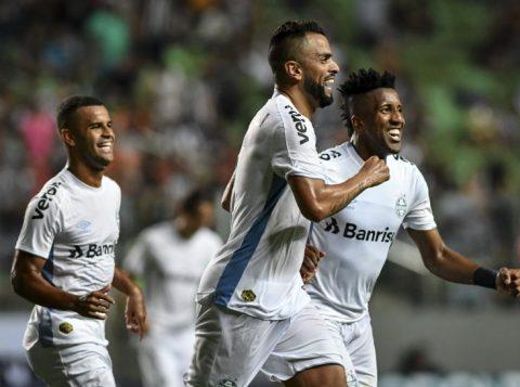 Fora de casa, o Grêmio vence o Atlético-MG e sobe na tabela do Campeonato Brasileiro