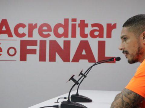 Guerrero faz elogios a Zé Ricardo e cita ansiedade por marcar gols