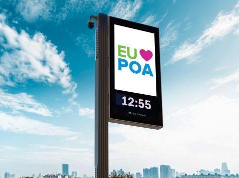Protótipo dos relógios de rua em Porto Alegre deve ser instalado em até 45 dias