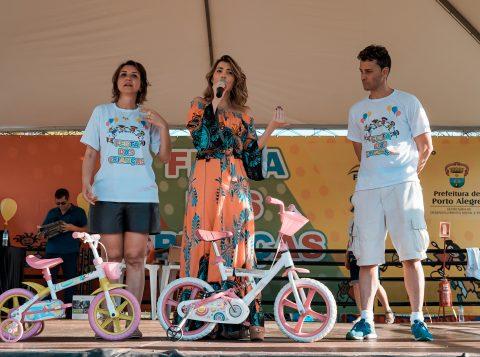 A festa do Dia das Crianças reuniu quase 4 mil pessoas em Porto Alegre