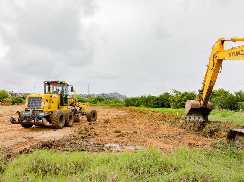 Iniciadas as obras de revitalização do trecho 3 da orla do Guaíba