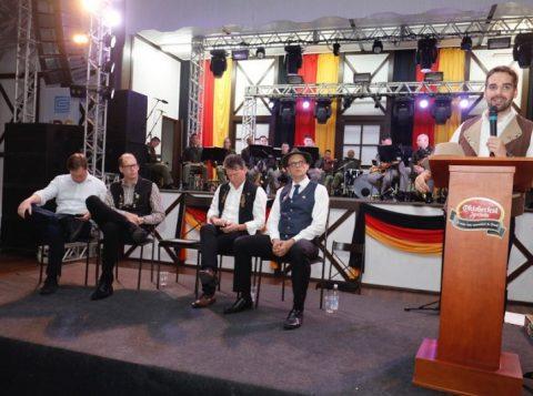 Na Oktoberfest de Igrejinha, o governador gaúcho destaca a mobilização da população do município