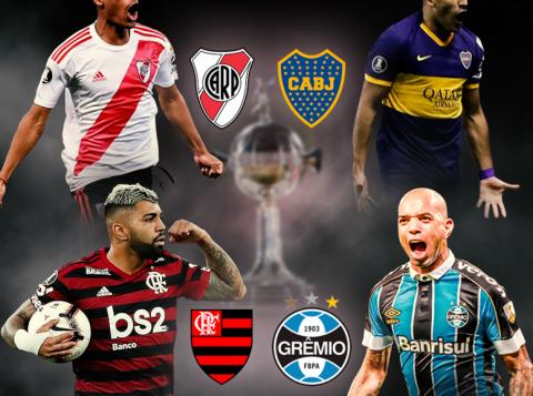 Semifinais da Libertadores repercutem na Europa