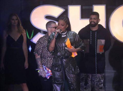 Ludmilla foi eleita a cantora do ano, chorou e agradeceu pelas vaias recebidas no Prêmio Multishow