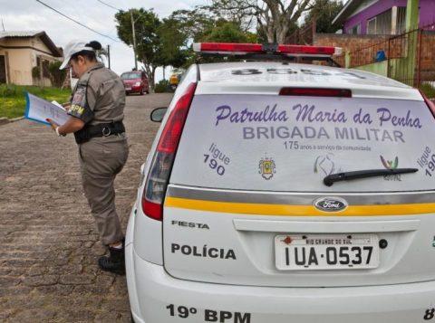A Brigada Militar ganhou novas Patrulhas Maria da Penha para o combate à violência contra as mulheres