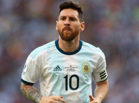 Messi diz que é sempre bom ganhar do Brasil