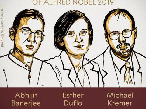 Trio ganha o Nobel de Economia por ajudar no combate à pobreza no mundo