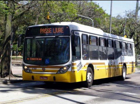 Os ônibus de Porto Alegre circulam com passe livre neste sábado para a vacinação contra o sarampo