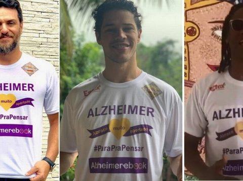 Conheça artistas e personalidades unidos pelo Alzheimer