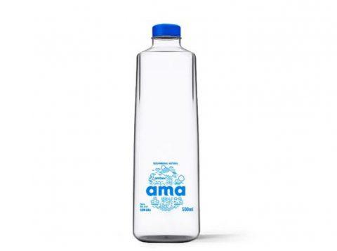A Ambev lançará no Brasil a primeira água mineral em lata