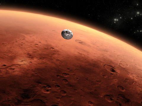 A Nasa disse que o homem pode chegar a Marte no ano 2035