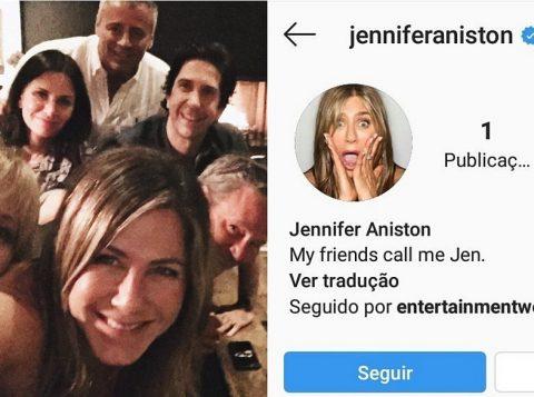 Jennifer Aniston bate recorde ao conseguir 1 milhão de seguidores no Instagram em 5 horas