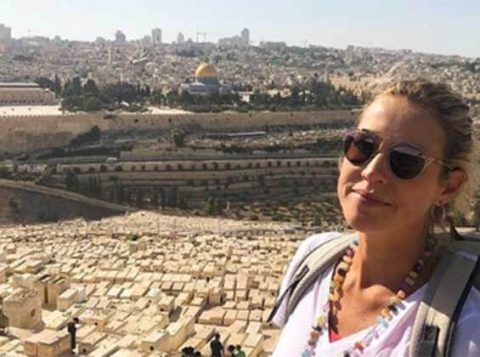 "Luana Piovani visita Jerusalém: ""Agradeci e pedi perdão"""