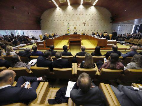 Supremo retoma o julgamento sobre prisão após condenação em segunda instância