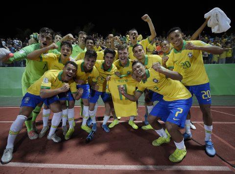 Trio da dupla grenal tem 100% de aproveitamento com Seleção Brasileira Sub-17