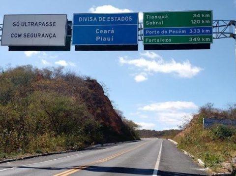 Estados do Piauí e do Ceará disputam território