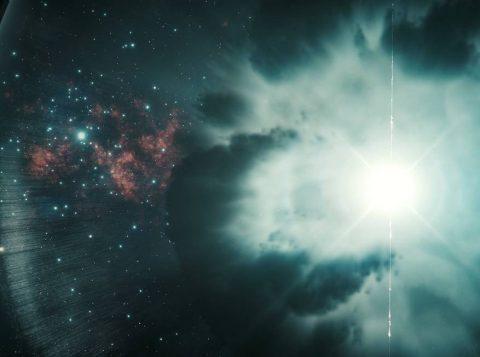 Um telescópio detectou energia recorde em uma explosão cósmica