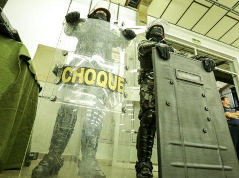 O governo gaúcho inaugurou oficialmente mais um Batalhão de Choque da Brigada Militar, desta vez em Caxias do Sul