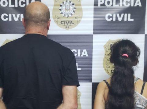 Um casal de foi preso no Litoral gaúcho por suspeita de tortura contra uma criança de 3 anos de idade