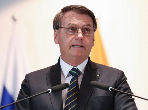 """Saída do PSL é """"separação amigável"""", diz Bolsonaro"""