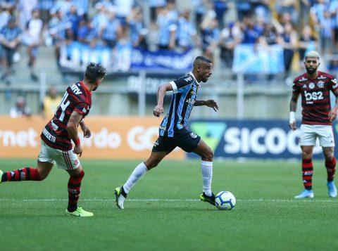 Grêmio perde por 1 a 0 para o Flamengo na Arena pelo Campeonato Brasileiro