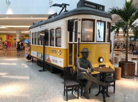 Bourbon Wallig recebe réplica do bonde Prazeres 28, ícone da cultura de Portugal