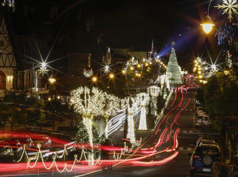 Gramado tem 2,4 milhões de leds na decoração do 34º Natal Luz