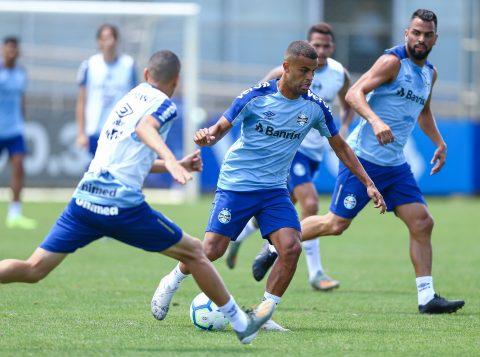 Grêmio encerra preparação para o confronto com o Flamengo neste domingo
