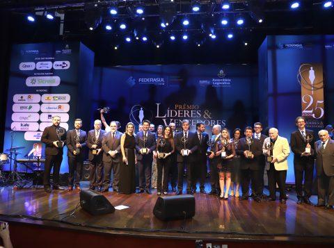 Federasul e Assembleia Legislativa entregam o prêmio Líderes & Vencedores