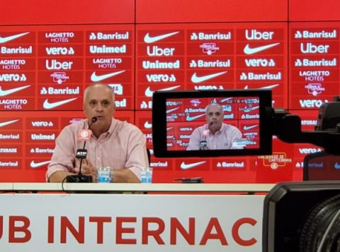 O presidente do Inter disse que fará uma reunião sobre as torcidas organizadas