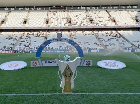 Corinthians x Inter na Arena Corinthians