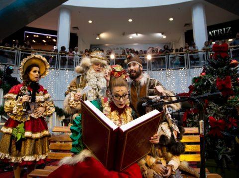 Natal Luz de Gramado leva magia ao Praia de Belas Shopping em Porto Alegre