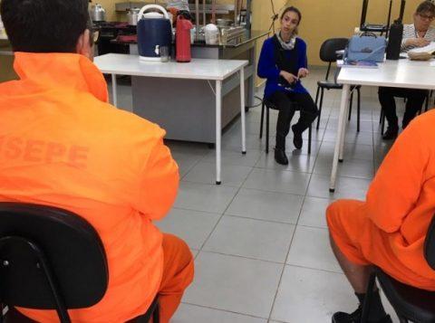Penitenciária de Porto Alegre realiza ações de inclusão social